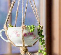 27 Alte Tassen DIY Ideen- so schön kann die Wiederverwertung sein