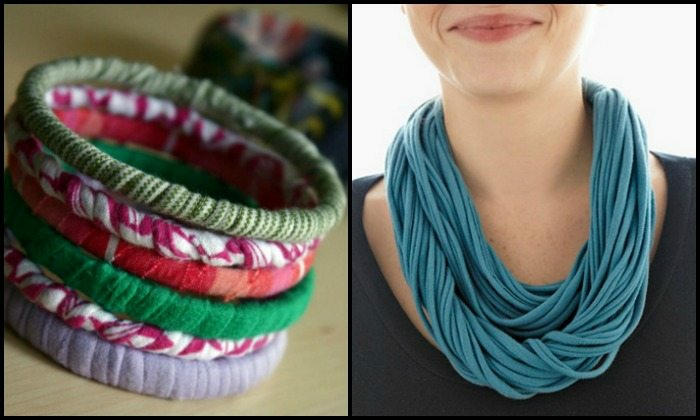Altes T-Shirt Upcycling ideen accessoires
