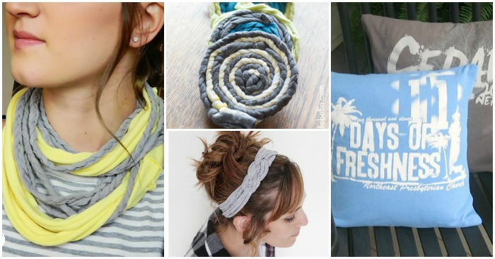 Altes T-Shirt Upcycling ideen cool