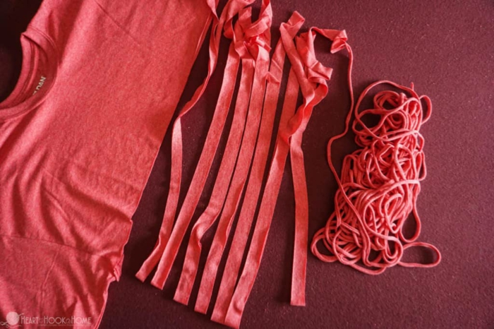 Altes T-Shirt Upcycling ideen entwicklung