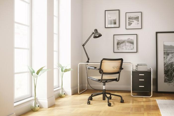 Büromöbel Set skanidinavisch bauhaus