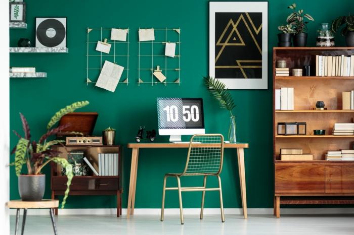 Büromöbel Set skanidinavisch blau