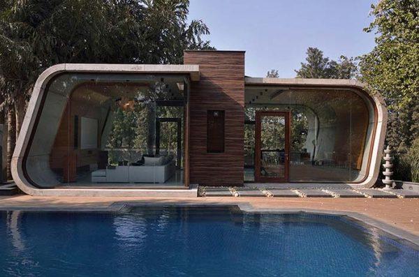 Design Ideen moderne Gartenhäuser