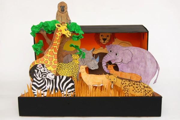 Construindo um diorama - idéias criativas e dicas para artistas e amadores afrika tiere welt
