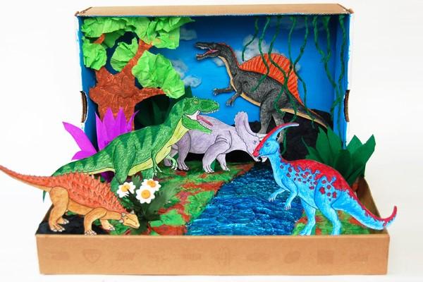 Construindo um diorama - ideias criativas e dicas para artistas e amadores