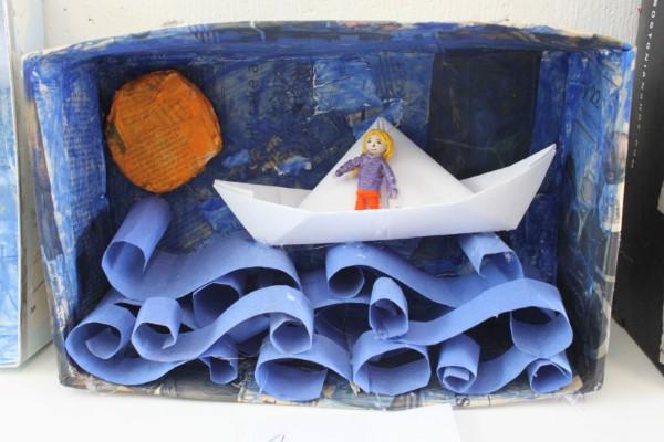 Construindo um diorama - idéias criativas e dicas para artistas e amadores paper art schuhbox