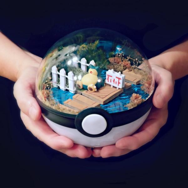 Construa um diorama - idéias criativas e dicas para artistas e amadores pokemon snorlax