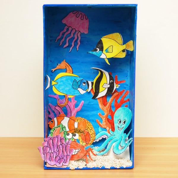 Construa um diorama - ideias criativas e dicas para artistas e hobistas do mundo subaquático. Faça você mesmo