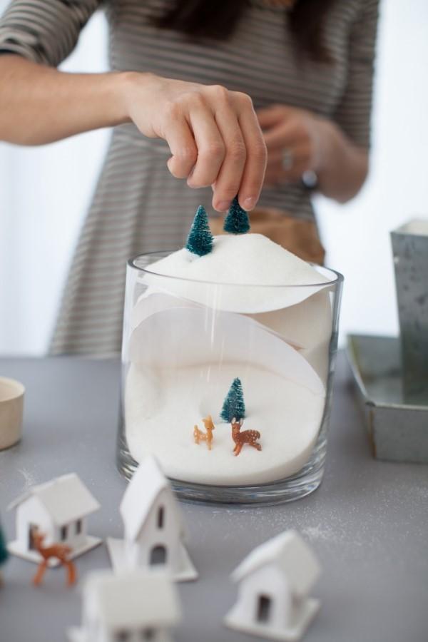Construir um diorama - idéias criativas e dicas para artistas e amadores dioramas diy de inverno