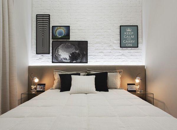 Dunkle Wohnung Schlafzimmer gestalten