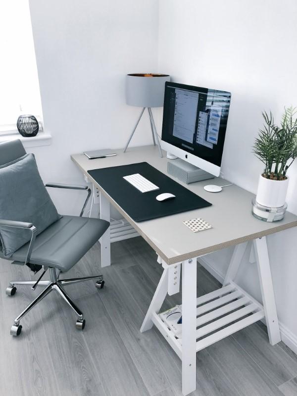 Ein Heimbüro einrichten, um Ihre Produktivität zu optimieren einrichtung kreativ modern