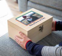 Erinnerungsbox Baby – Dinge, die darin nicht fehlen sollten, sowie weitere Tipps und Ideen
