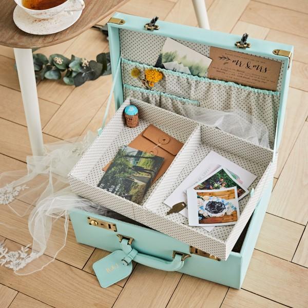 Erinnerungsbox Baby – Dinge, die darin nicht fehlen sollten, sowie weitere DIY Tipps mini koffer ideen baby
