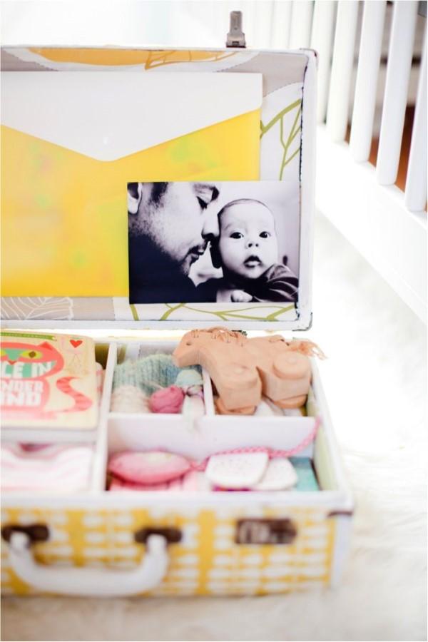 Erinnerungsbox Baby – Dinge, die darin nicht fehlen sollten, sowie weitere DIY Tipps schatzkiste koffer diy