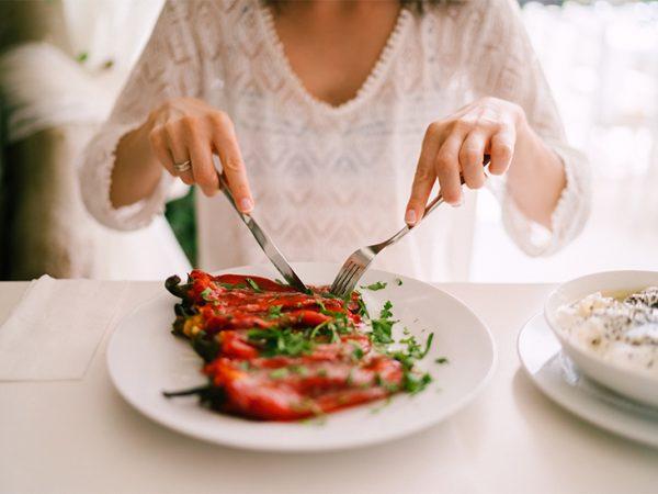 Frische Gemüsesorten -Paprika Salat Petersilie
