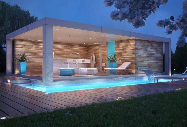 Gartenhaus moderne Trends Ideen