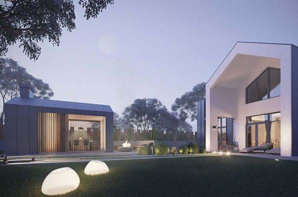 Gartenhaus tolle Design Trends