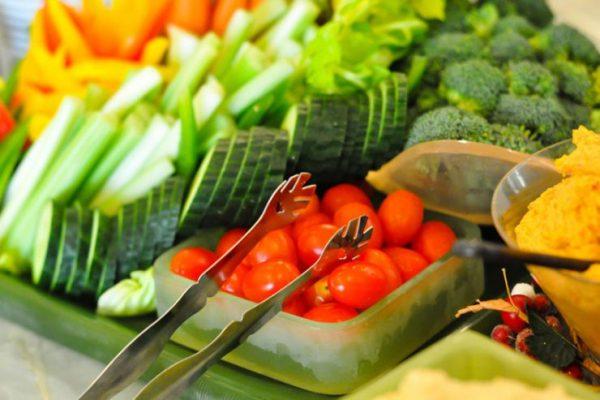 Gesunde Ernährung grüner Salat