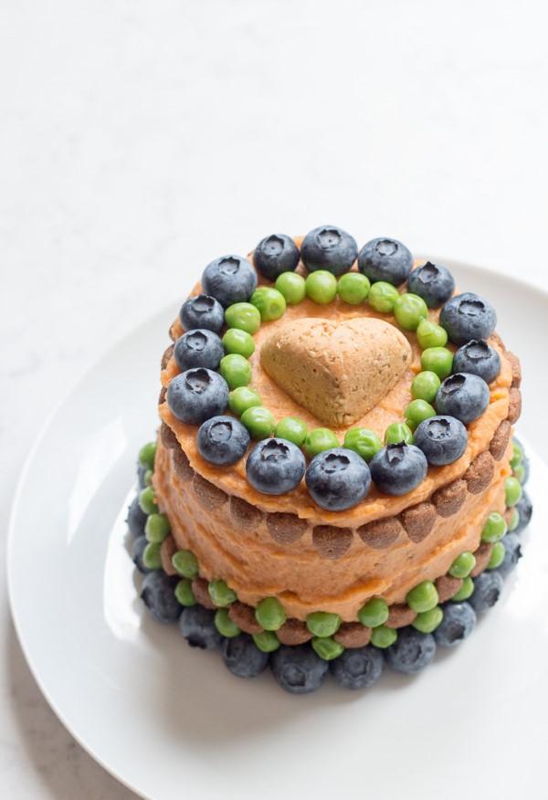 Gesunde Hundekuchen Rezeptideen, die Bello glücklich machen hübsche deko torte hund