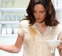 Kaffeeflecken entfernen – Hausmittel für Zuhause und unterwegs!