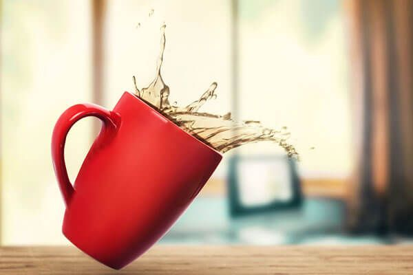 Kaffeeflecken entfernen Haushaltstipps