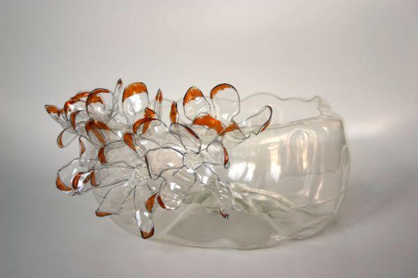 Kunstwerk Basteln mit PET Flaschen