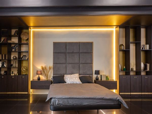Llicht im Schlafzimmer Wohnung einrichten