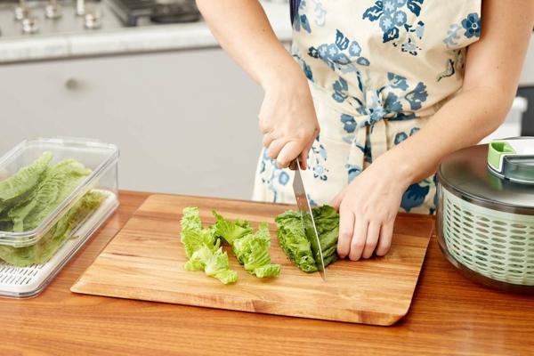 Διατηρήστε τη σαλάτα φρέσκια και τραγανές ιδέες