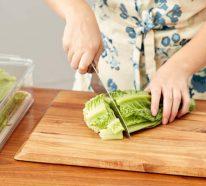 Salat lagern: beste Geheimtipps plus Rezept für grünen Salat mit Avocado