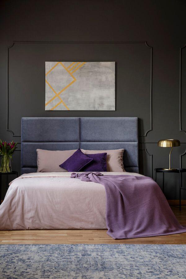 Schlafzimmer Ideen dunkle Wohnung
