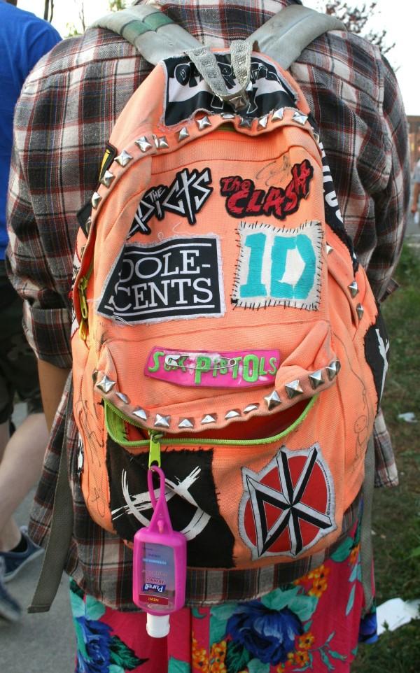 Schultaschen für Teenager selber gestalten – kreative Ideen und einfache Anleitungen diy ideen pfirsich flicken
