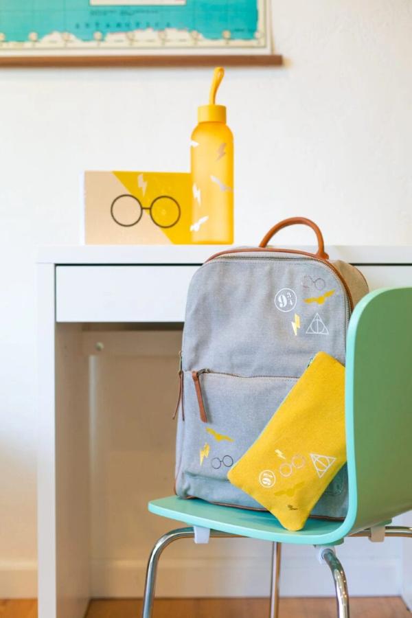 Schultaschen für Teenager selber gestalten – kreative Ideen und einfache Anleitungen schule bedarf harry potter