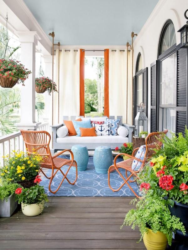 Sommer-Deko für den Eingangsbereich – hilfreiche Tipps und kreative Ideen bunt modern farbenfroh