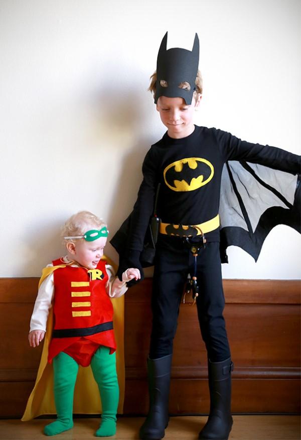 Σούπερ ιδέες ήρωας παιδικής ηλικίας για το επόμενο πάρτι κοστουμιών σας. ιδέες για τα αδέλφια του batman robin