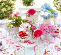 7 Sommer-Tischdeko Ideen für unvergessliche Mahlzeiten und Feiern