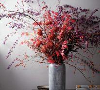 60 Trockenblumen Deko Ideen- die vielseitige Schönheit des Herbstes