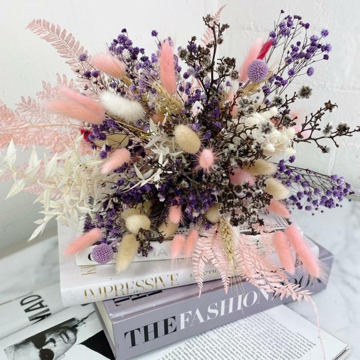 Trockenblumen Deko strauß wuschel