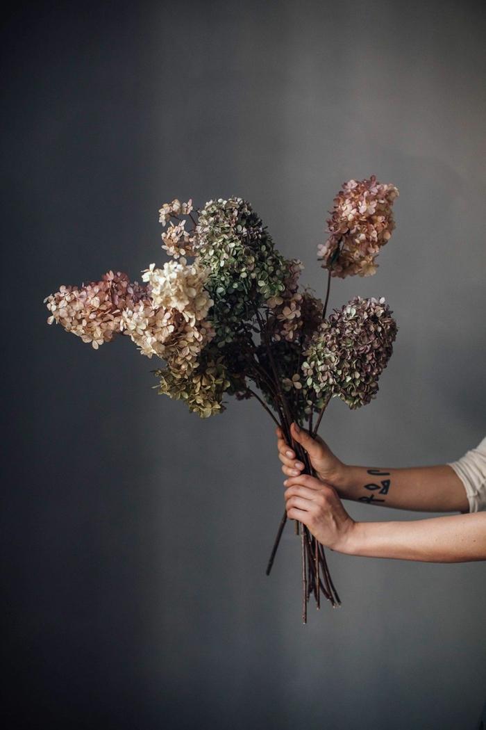 Trockenblumen Deko strauß