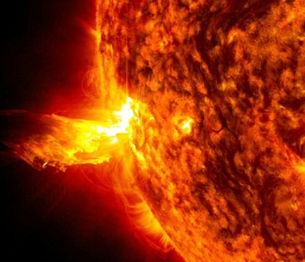 Was sind Sonnenstürme Sonneneruptionen Folgen