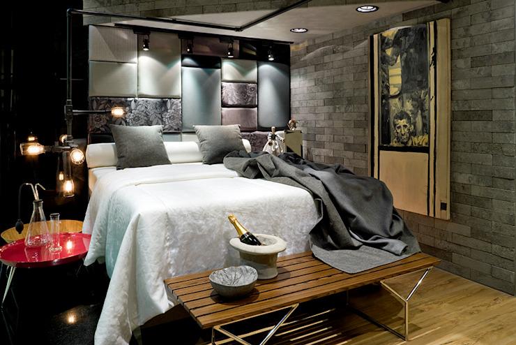 Zimmer einrichten modernes Schlafzimmer