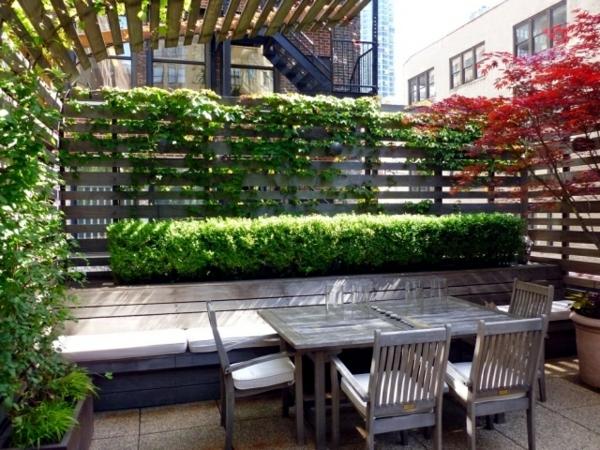 balkon sichtschutz ideen balkon bepflanzen ideen