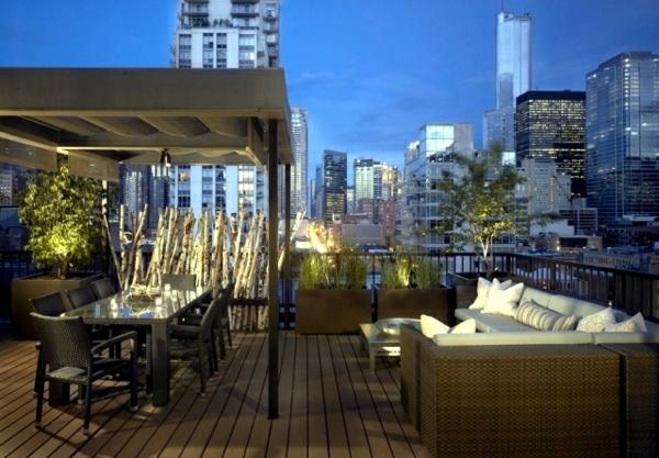 balkon sichtschutz ideen kreative lösung frischer balkon