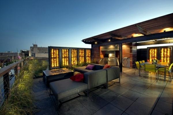 balkon sichtschutz ideen pflanzen moderne balkonmöbel