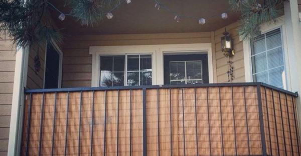 balkon sichtschutz iden sichtschutzmatte gemütlicher balkon-resized