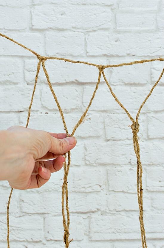 deko fischernetz selber machen anleitung
