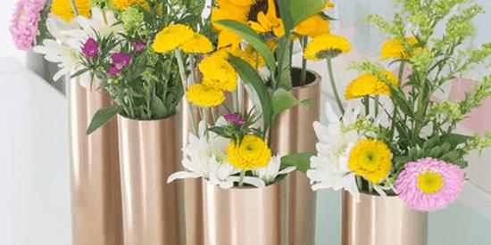 elegante vasen aus pringles dosen