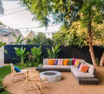 Garten Sitzecke gestalten und mehr Zeit im Freien verbringen
