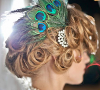 Dekorieren mit Pfauenfedern – zauberhafte Ideen zu Hochzeit, Weihnachten oder Geburtstagspartys