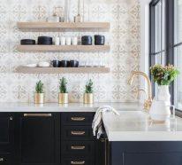 Küche mit Fliesenspiegel – der echte Klassiker bei der Küchengestaltung