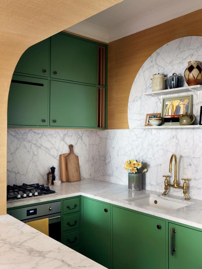 deixe a cozinha embrulhar verde